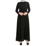 Beli Büzgülü Elbise 2923 - Siyah