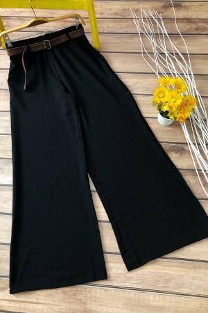 Kemerli Pantolon 0093 - Siyah