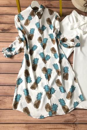 Ananas Tunik 4010 - Mavi