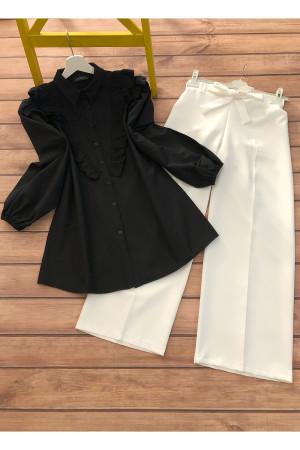 Gömlek Pantolon Takım - Siyah