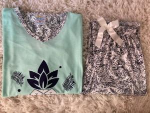Ananas Pijama Takım - Mint
